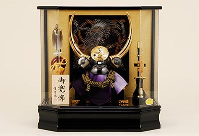 五月人形 K-127 黒田長政 兜ケース飾り