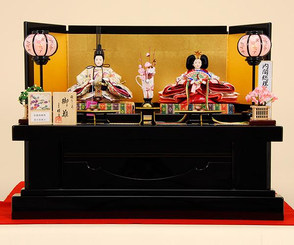 K-1 平飾り 雛人形 京都西陣帯