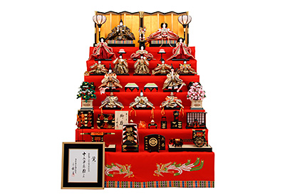 京都西陣帯 K-200 七段飾り