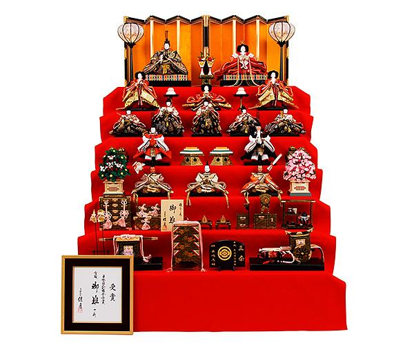 京都西陣帯 K-202 七段飾り