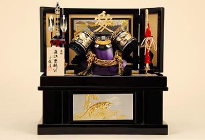 五月人形 K-27 直江兼続 兜収納飾り