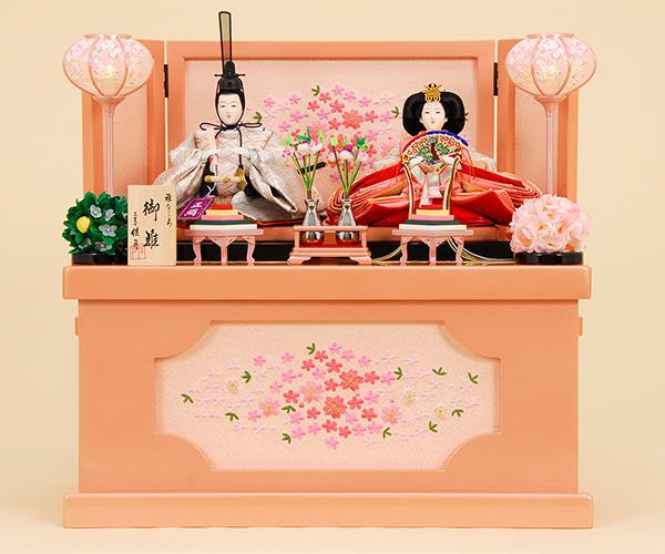 京都西陣帯 K-301 収納飾り 雛人形