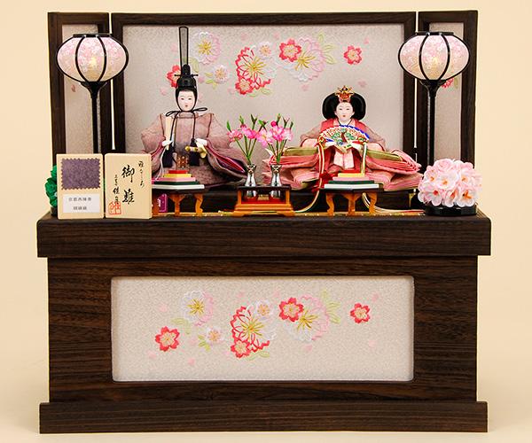 K-304 収納飾り 雛人形 京都西陣帯