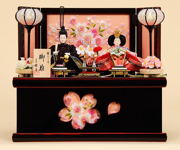 K-306 収納飾り 雛人形 京都西陣帯