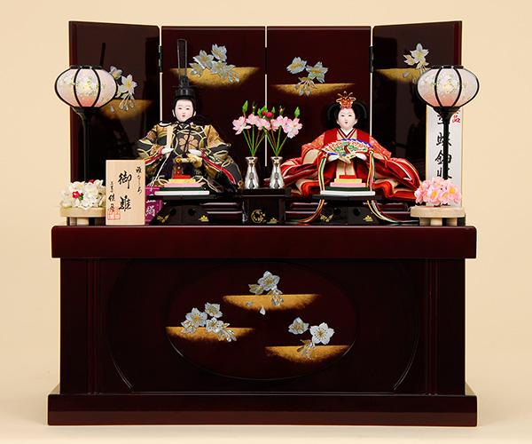 京都西陣帯 K-307 収納飾り 雛人形