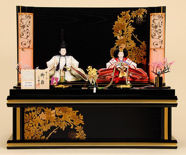 京都西陣帯 K-309 収納飾り 雛人形