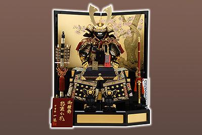 五月人形 K-315 鎧平飾り 7号 総裏小札大鎧