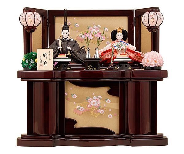 京都西陣帯  K-318 収納飾り 雛人形