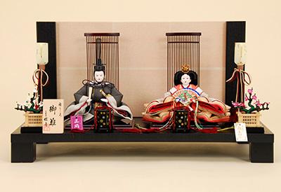 京都西陣帯 K-4 平飾り 雛人形