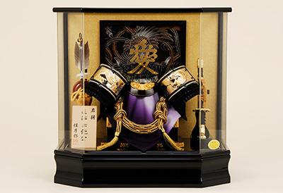 五月人形 K-125 直江兼続兜ケース飾り