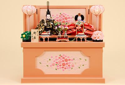 K-300 収納飾り 雛人形