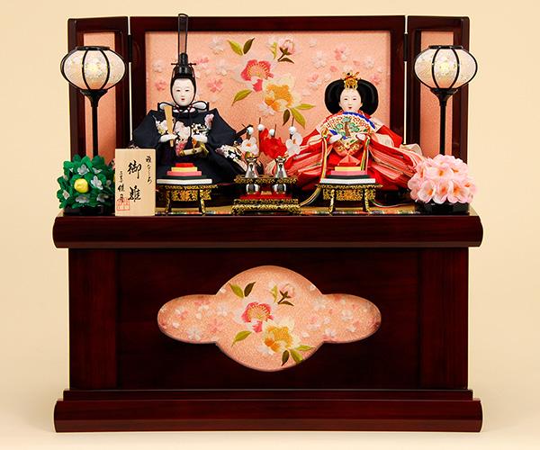 K-301 収納飾り 雛人形