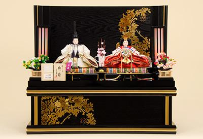 K-309 収納飾り 雛人形 京都西陣帯