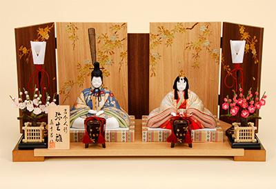 K-405 真多呂作 弥生雛(993030) 木目込人形
