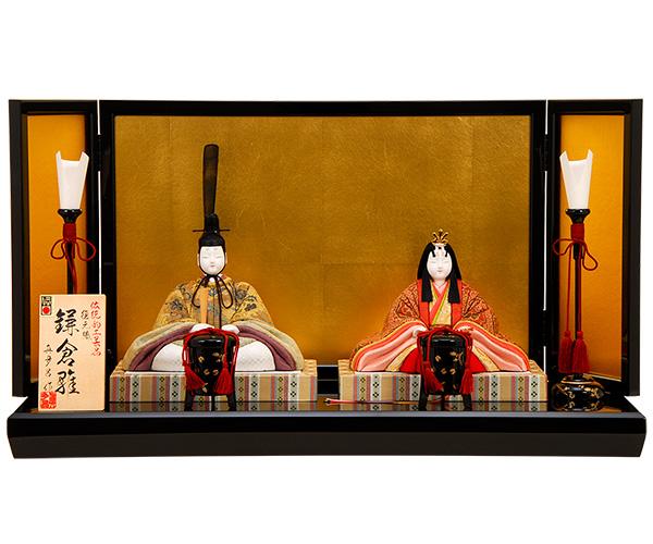 K-407 真多呂作 復元鎌倉雛(26220) 木目込人形