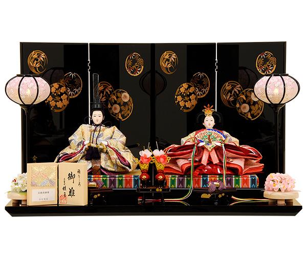 K-6 平飾り 雛人形 京都西陣帯 【佳月オリジナル】