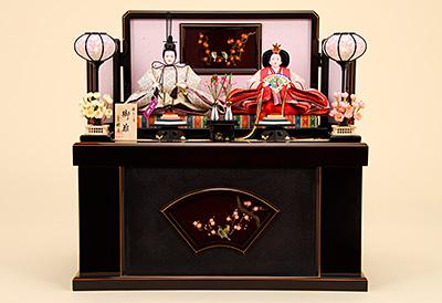 K-315 収納飾り 雛人形 京都西陣帯 唐織