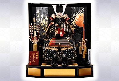 五月人形 K-316 鎧平飾り 合せ鉢プレミアム本仕立鎧