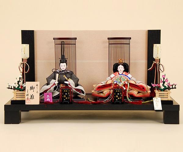 K-4 平飾り 雛人形 京都西陣帯 【佳月オリジナル】