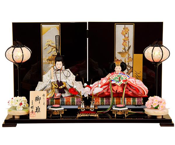 K-17 平飾り 雛人形 【佳月オリジナル】
