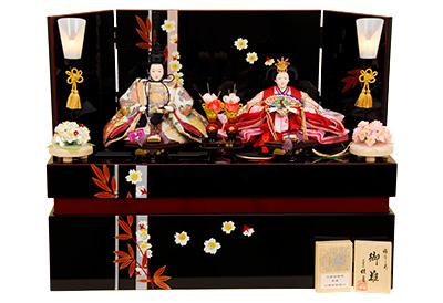 K-303 収納飾り 雛人形 京都西陣帯
