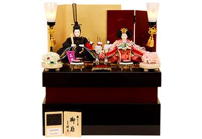 K-321 収納飾り 雛人形 京都西陣帯
