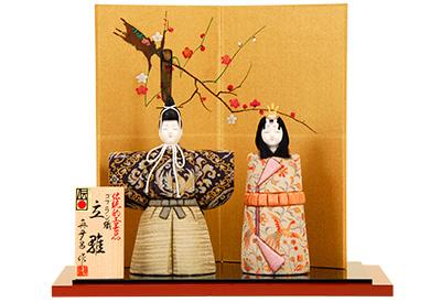 K-423 真多呂作 木目込人形