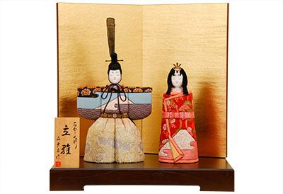 K-424 真多呂作 木目込人形