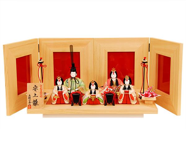 K-454 一秀作 5人飾り 【木目込人形】