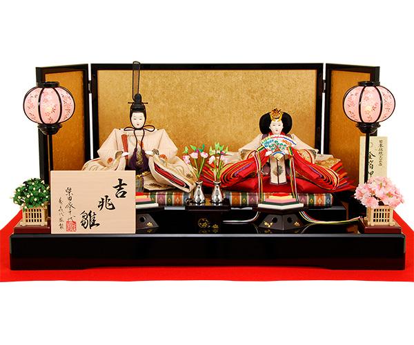 K-507 平飾り 雛人形 【柴田家千代】