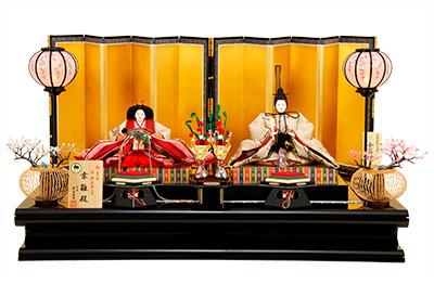京雛 112 京都西陣帯 唐織之衣装