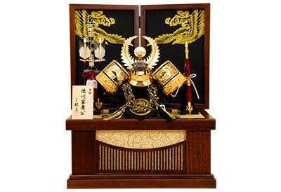 五月人形 K-43 徳川家康 兜収納飾り
