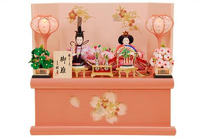 K-302 収納飾り 雛人形