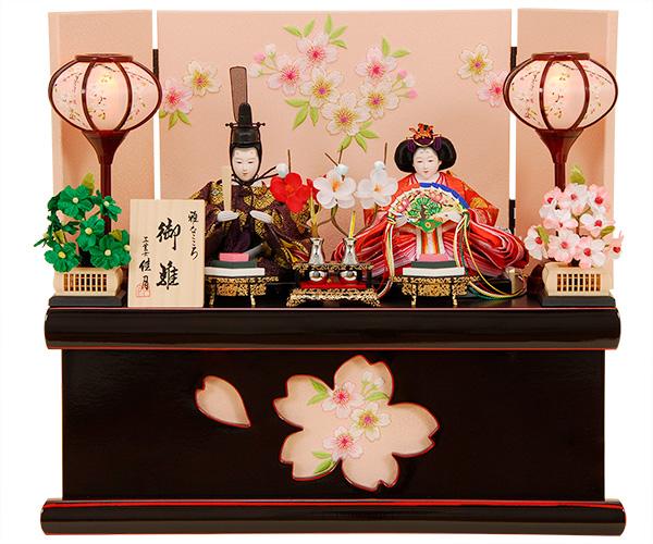 K-304 収納飾り 雛人形