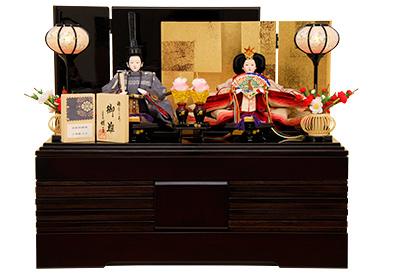 K-307A 収納飾り 雛人形 京都西陣帯 小葵献上文