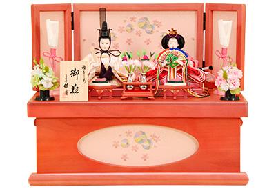 K-310 収納飾り 雛人形