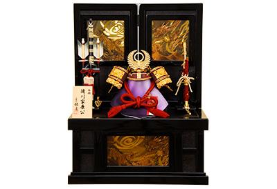五月人形 K-30 徳川家康 兜収納飾り