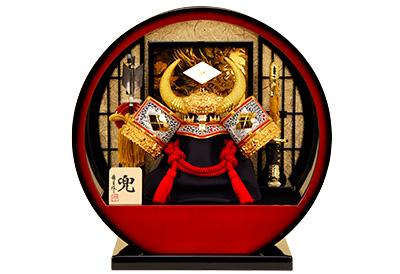 五月人形 K-140 武田信玄 兜ケース飾り
